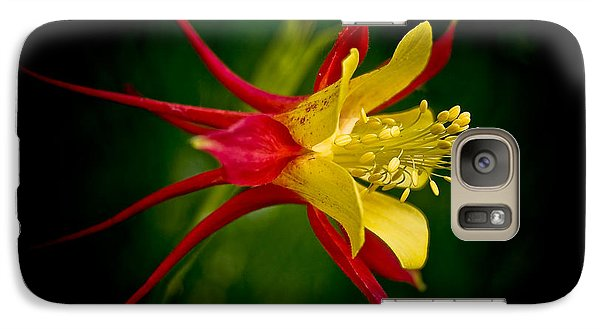 Galaxy Case featuring the photograph Columbine by Larry Carr