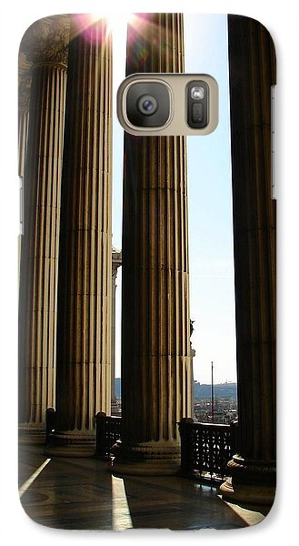 Galaxy Case featuring the photograph Columns by Patrick Witz
