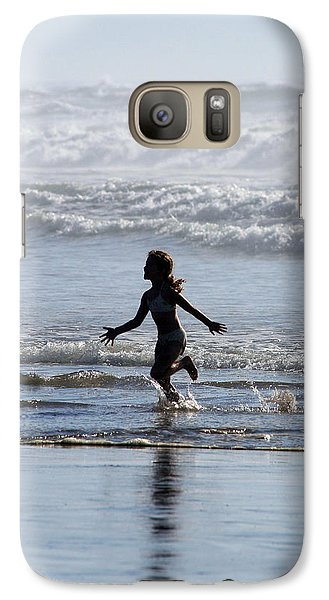 Galaxy Case featuring the photograph Come As A Child by Holly Ethan