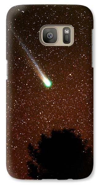 Galaxy Case featuring the photograph Comet Hyakutake by Rick Frost