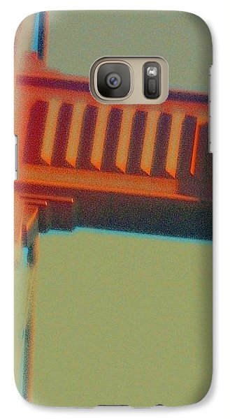 Galaxy Case featuring the digital art Coming In by Richard Laeton