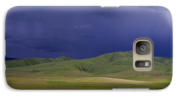 Galaxy Case featuring the photograph Coming Of The Storm by Marta Cavazos-Hernandez