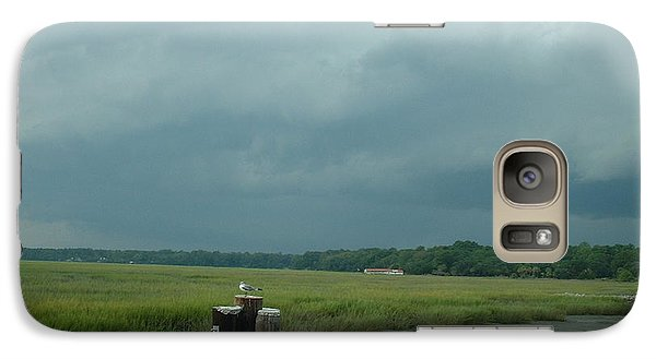 Galaxy Case featuring the photograph Coming On  by Mark Robbins