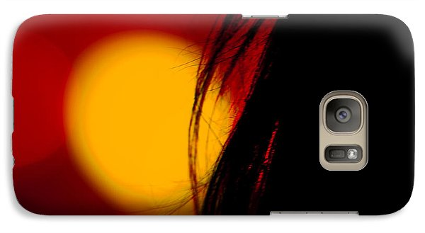 Galaxy Case featuring the photograph Concert Silhouette by Tom Gort