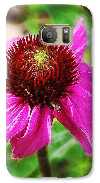 Galaxy Case featuring the photograph Coneflower by Judi Bagwell