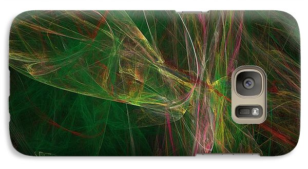 Galaxy Case featuring the digital art Confusion by Ester  Rogers