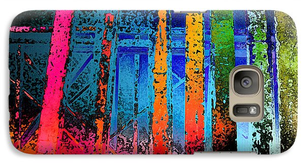 Galaxy Case featuring the photograph Construct by David Pantuso