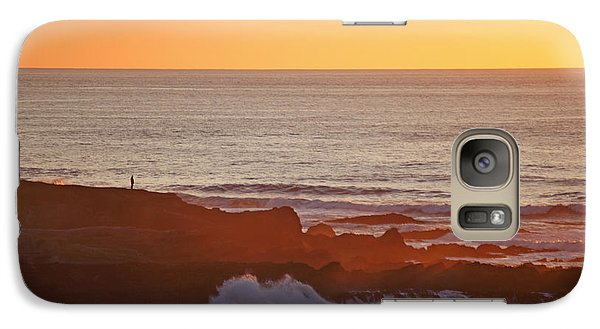 Galaxy Case featuring the photograph Contemplation by Susan Rovira