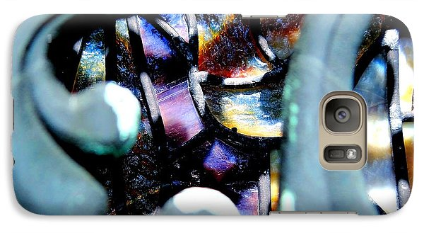 Galaxy Case featuring the photograph Contrasting Detail by Lisa Brandel