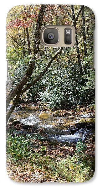 Galaxy Case featuring the photograph Cool Creek by Margaret Palmer