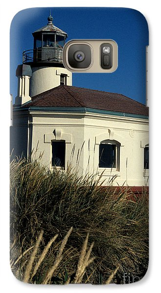 Galaxy Case featuring the photograph Coquille Light by Sharon Elliott