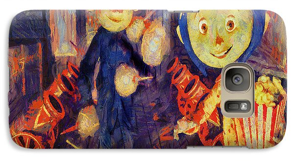 Galaxy Case featuring the painting Coraline Circus by Joe Misrasi