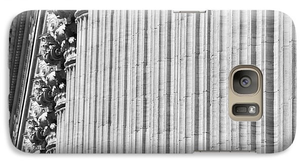 Galaxy Case featuring the photograph Corinthian Columns by John Schneider