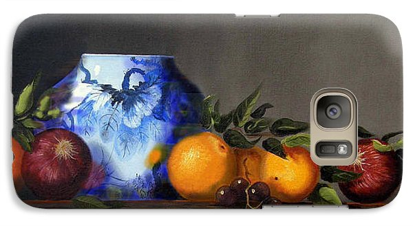 Galaxy Case featuring the painting Cornucopia by Barry Williamson