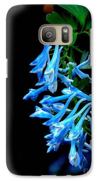 Galaxy Case featuring the photograph Corydalis  by Tanya  Searcy