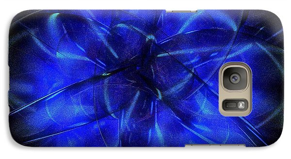 Galaxy Case featuring the digital art Cosmic Light by Greg Moores