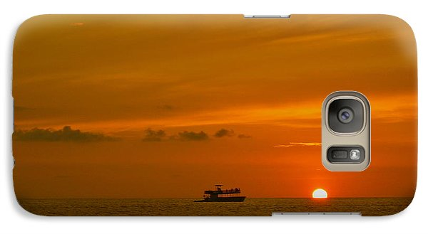 Galaxy Case featuring the photograph Costa Rica Sunset by Eric Tressler
