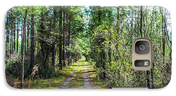 Galaxy Case featuring the photograph Country Path by Shannon Harrington