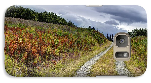 Galaxy Case featuring the photograph Country Road In Fall by Michele Cornelius