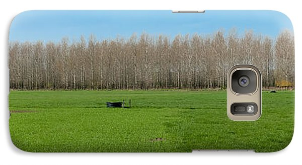 Galaxy Case featuring the photograph Countryside Landscape by Hans Engbers