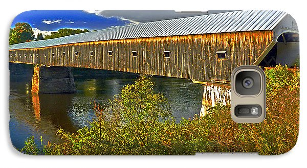 Galaxy Case featuring the photograph Covered Bridge by William Fields