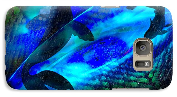 Galaxy Case featuring the photograph Coy Koi by Richard Piper