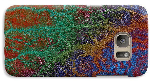 Galaxy Case featuring the photograph Cracks by David Pantuso
