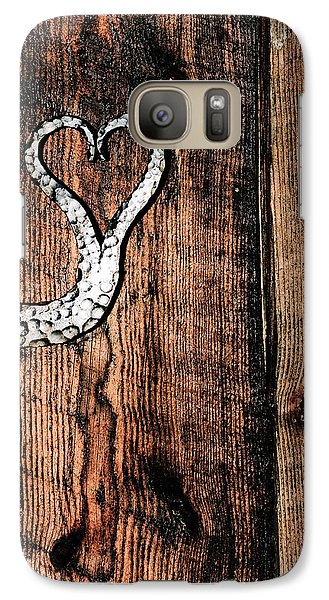Galaxy Case featuring the photograph Crafted Heart by Michelle Joseph-Long