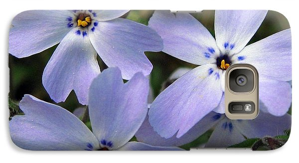 Galaxy Case featuring the photograph Creeping Phlox by J McCombie