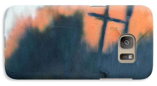 Galaxy Case featuring the painting Cross by Chriss Pagani