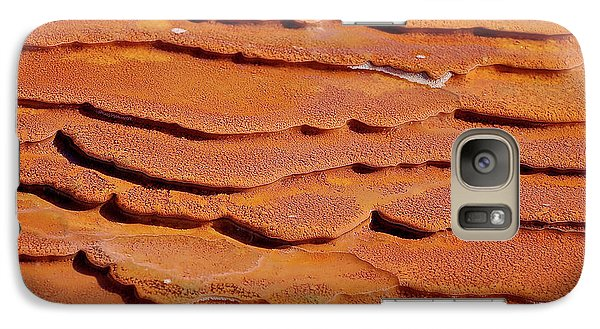 Galaxy Case featuring the photograph Crystal Geyser by Britt Runyon