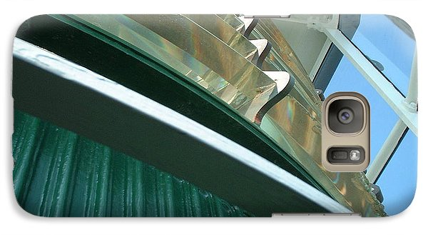 Galaxy Case featuring the photograph Crystal Lights by Mark Robbins