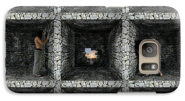 Galaxy Case featuring the photograph Cube  by Mariusz Zawadzki