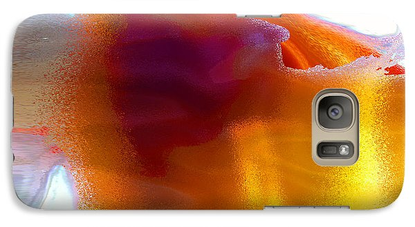 Galaxy Case featuring the digital art Curiously Refreshing by Ginny Schmidt