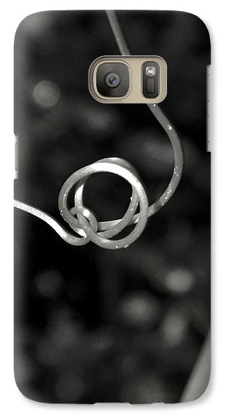 Galaxy Case featuring the photograph Curls And Swirls by Ester  Rogers
