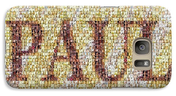 Custom Paul Mosaic Taylor Swift Galaxy S7 Case by Paul Van Scott