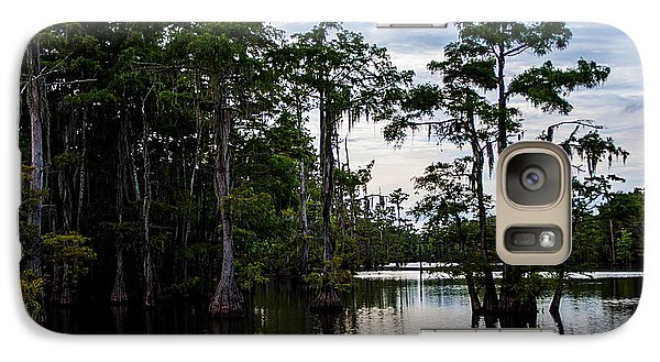 Galaxy Case featuring the photograph Cypress Swamp In Louisiana by Ester  Rogers