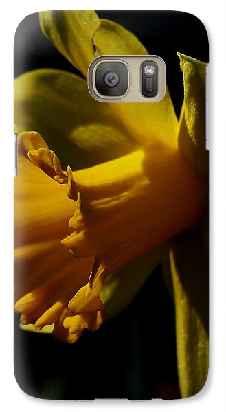 Galaxy Case featuring the photograph Daffodil by Karen Harrison