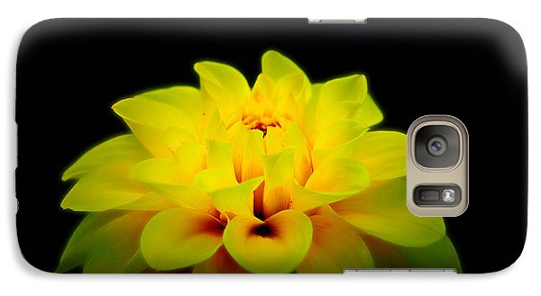Galaxy Case featuring the photograph Dahlia Delight by Jeanette C Landstrom