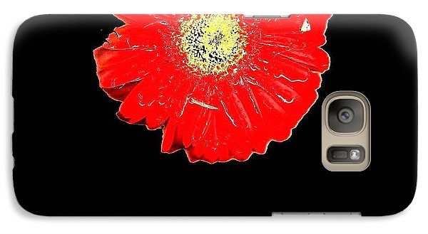 Galaxy Case featuring the photograph Daisy Reflection by Carolyn Repka