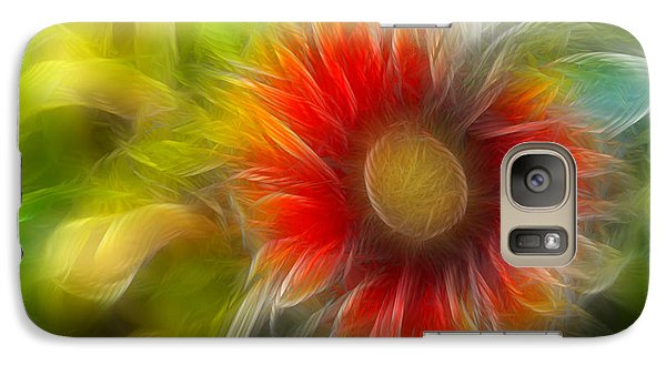 Galaxy Case featuring the photograph Dalia Pseudo Fractal by Lynne Jenkins