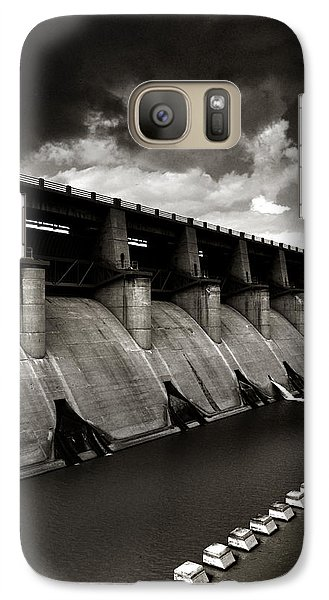 Galaxy Case featuring the photograph Dam-it by Brian Duram