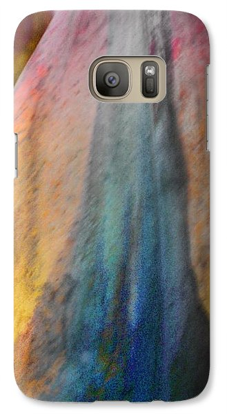 Galaxy Case featuring the digital art Dance Through The Light by Richard Laeton