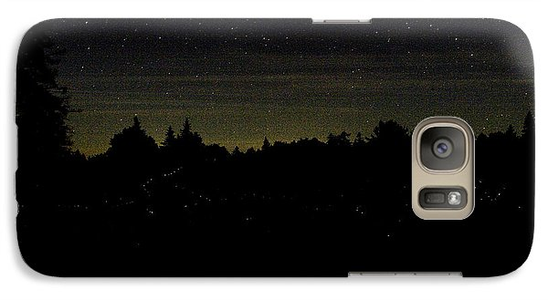 Galaxy Case featuring the photograph Dancing Fireflies by Brent L Ander
