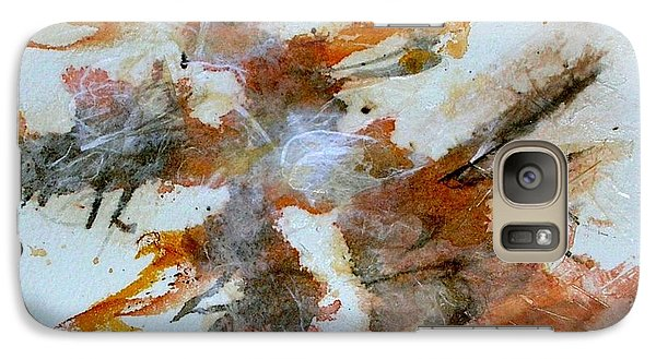 Galaxy Case featuring the mixed media Dancing by Mary Kay Holladay