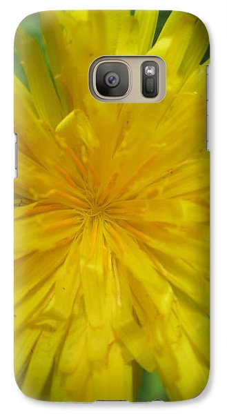 Galaxy Case featuring the photograph Dandelion Close Up by Kym Backland