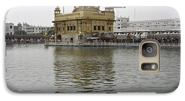 Galaxy Case featuring the photograph Darbar Sahib And Sarovar Inside The Golden Temple by Ashish Agarwal