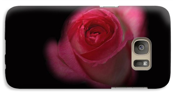 Galaxy Case featuring the photograph Dark Rose by Michael Waters
