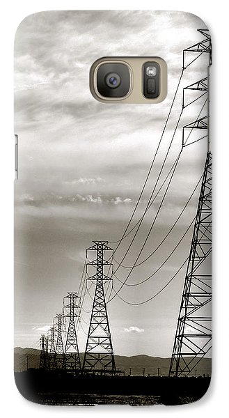 Galaxy Case featuring the photograph Darkening Sky by Bob Wall