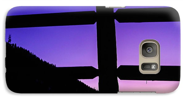 Galaxy Case featuring the photograph Darkening Sky by Shannon Harrington